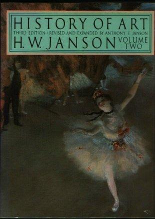 History Of Art: Volume Two: H. W Janson