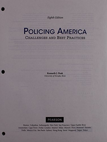 9780133894288: Policing America: Challenges and Best Practices, Student Value Edition Plus MyLab Criminal Justice with Pearson eText -- Access Card Package (8th Edition)