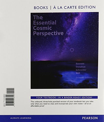 9780133895063: Essential Cosmic Perspective, The, Books a la Carte, Lecture - Tutorials for Introductory Astronomy, Mastering Astronomy with eText and Access Card (7th Edition)