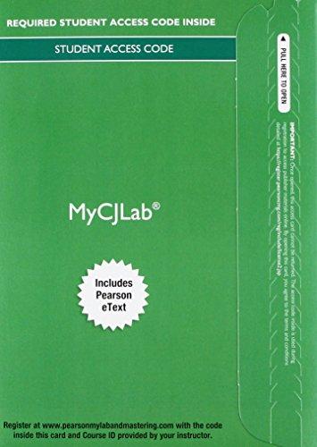 9780133895407: MyCJLab with Pearson eText -- Access Card -- for Criminal Procedure