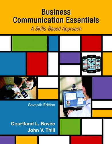 9780133896787: Business Communication Essentials (7th Edition)