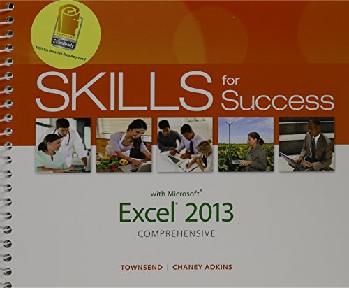 9780133897487: Skills for Success with Excel 2013 Comprehensive, MyLab IT with eText and Access Card