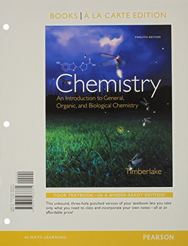 9780133899573 chemistry an introduction to general organic and rh abebooks com