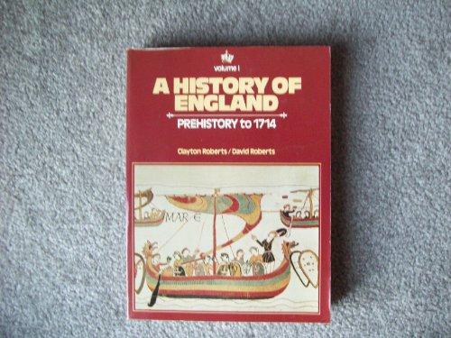 9780133900057: History of England: To 1714 v. 1