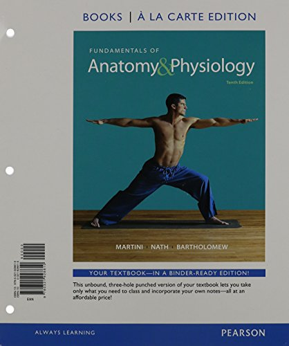 9780133900293: Fundamentals of Anatomy & Physiology a la Carte, MasteringA&P with eText, Interactive Physiology 10 System Suite CD-Rom, Atlas of the Human Body (10th Edition)