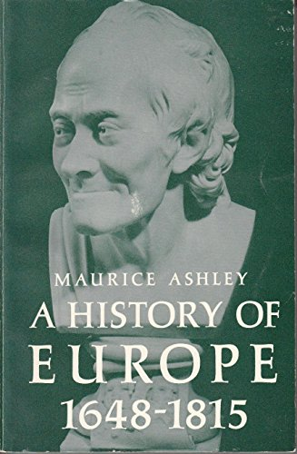 9780133900620: History of Europe, 1648-1815