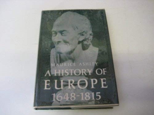 9780133900705: History of Europe, 1648-1815