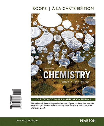 9780133900811: Chemistry, Books a la Carte Plus Mastering Chemistry with eText -- Access Card Package (7th Edition)