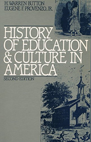 9780133901627: History of Education and Culture in America