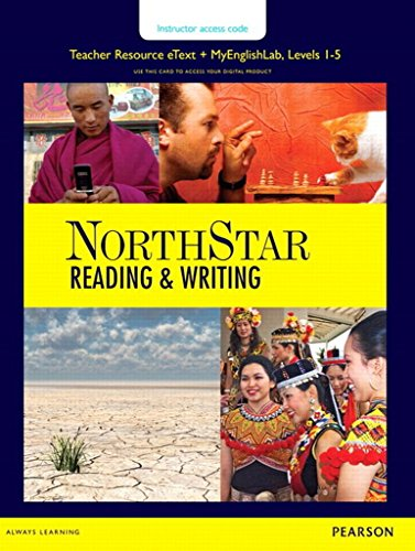NORTHSTAR READING & WRITING 1 5 ACCESS CODE CARD FOR TEACHER RESOURCE