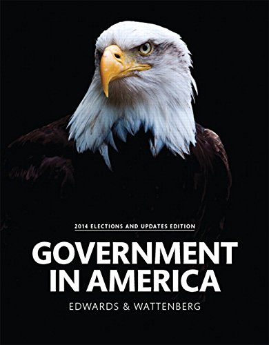 Government in America, 2014 Elections and Updates: Lineberry, Robert L.,