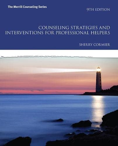9780133905229: Counseling Strategies and Interventions for Professional Helpers (9th Edition) (The Merrill Counseling Series)