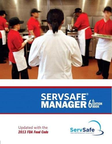 9780133908374: Servsafe Manager, Revised with Servsafe Exam Answer Sheet