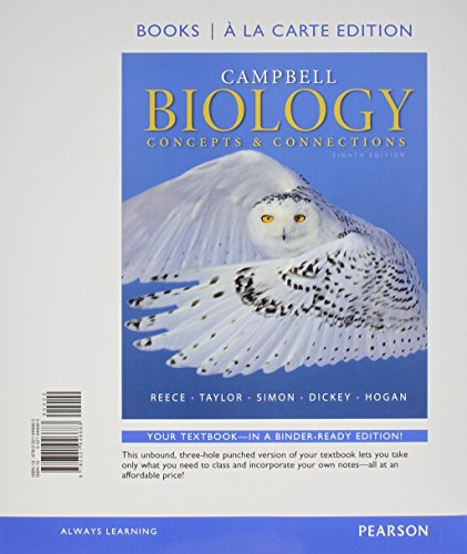 9780133909029: Campbell Biology: Concepts & Connections, Books a la Carte Plus Mastering Biology with eText -- Access Card Package (8th Edition)
