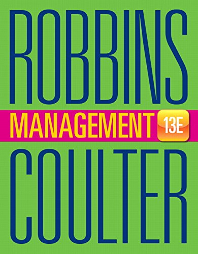 Management (Hardback): Stephen P. Robbins, Mary Coulter