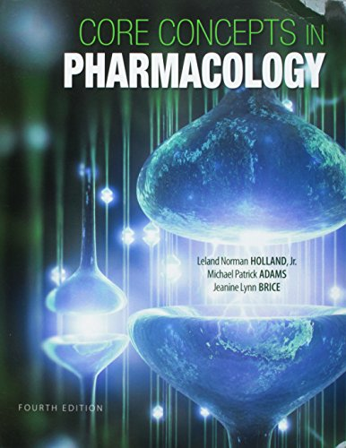 9780133910544: Core Concepts in Pharmacology & Student Workbook & Resource Guide Package (4th Edition)