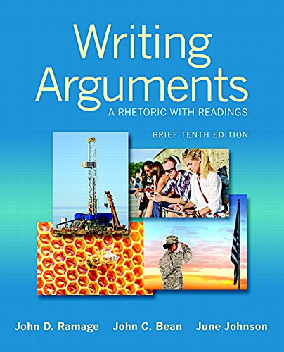9780133910698: Writing Arguments: A Rhetoric with Readings, Brief Edition Plus MyWritingLab with Pearson eText -- Access Card Package (10th Edition)