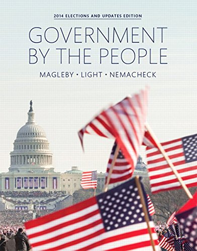 9780133914689: Government By the People, 2014 Elections and Updates Edition (25th Edition)