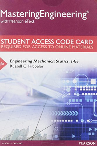 9780133916379: MasteringEngineering with Pearson eText -- Standalone Access Card - for Engineering Mechanics: Statics