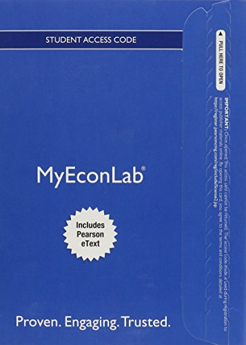 9780133916676: MyLab Economics with Pearson eText -- Access Card -- for Economics Today: The Micro View