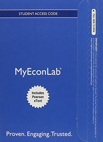 9780133917604: MyEconLab with Pearson eText -- Access Card -- for Microeconomics