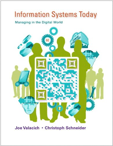 Information Systems Today: Managing in the Digital: Joseph Valacich; Christoph