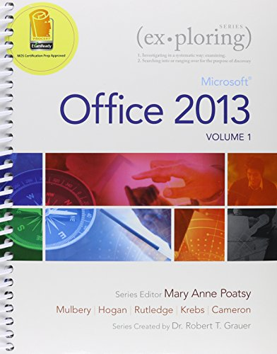 9780133919943: Exploring Microsoft Office 2013, Vol. 1 & MyITLab with Pearson eText -- Access Card & Office 365 Home Premium Academic -- 180-Day Trial Access Card Package