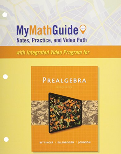 9780133920550: MyMathGuide: Notes, Practice, and Video Path for Prealgebra