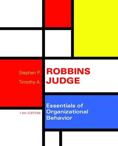 9780133920819: Essentials of Organizational Behavior (13th Edition)