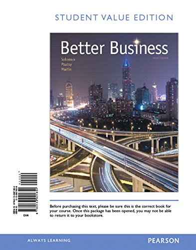 9780133921854: Better Business, Student Value Edition (4th Edition)