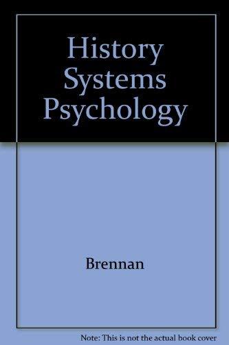 9780133922189: History Systems Psychology
