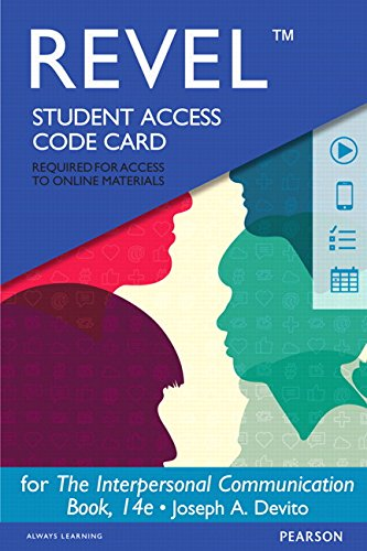 9780133922622: REVEL for The Interpersonal Communication Book - Access Card (14th Edition)