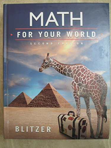 9780133922936: Math For Your World
