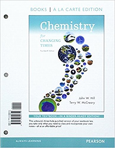 9780133923162: Chemistry for the Changing Times, Books a la Carte Plus MasteringChemistry with eText -- Access Card Package (14th Edition)