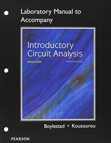 9780133923780: Laboratory Manual for Introductory Circuit Analysis