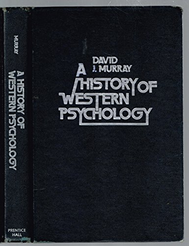 9780133923810: History of Western Psychology