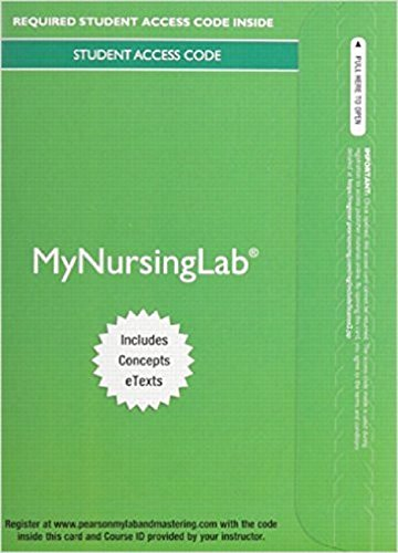 MyNursingLab with Digital Library -- Access Card -- for Nursing: A Concept-Based Approach to ...
