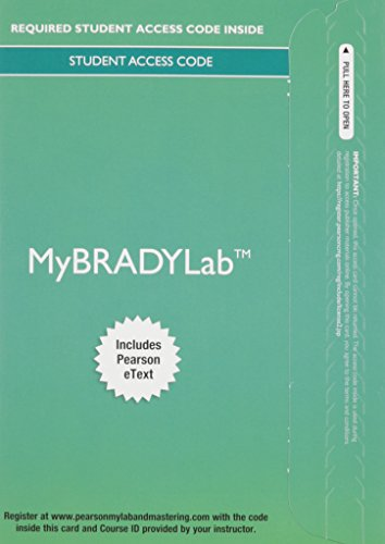 9780133927825: MyLab BRADY with Pearson eText -- Access Card -- for Prehospital Emergency Care