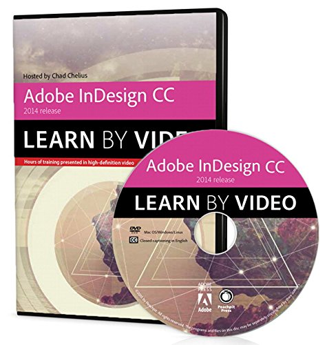 9780133928075: Adobe InDesign CC Learn by Video 2014