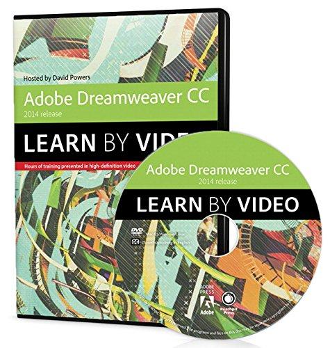 9780133928082: Adobe Dreamweaver CC Learn by Video (2014 Release)