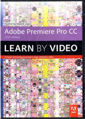 9780133928105: Adobe Premiere Pro CC Learn by Video (2014 release)