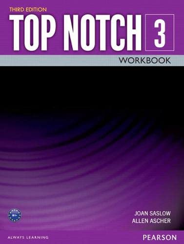 9780133928174: Top Notch 3 Workbook