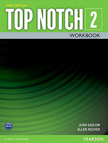 9780133928228: TOP NOTCH 2 3/E WORKBOOK 392822