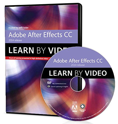 9780133928266: Adobe After Effects CC Learn by Video (2014 release)