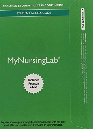 9780133928686: MyNursingLab with Pearson eText - Access Card - for Pharmacology: Connections to Nursing Practice