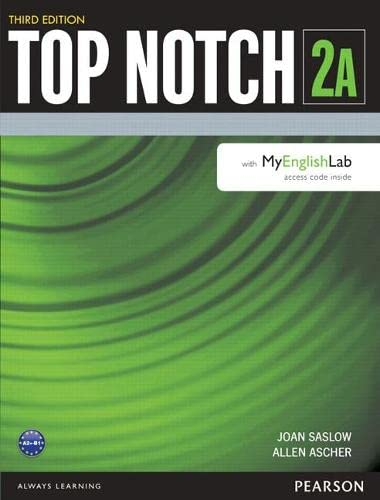 9780133928969: Top Notch 2 Student Book Split A with MyLab English