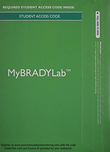 MyBradyLab without Pearson eText -- Access Card -- for Paramedic Care Principles and Practice, ...