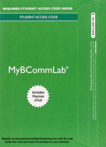 9780133931136: MyLab Business Communication with Pearson eText -- Access Card -- for Business Communication Essentials