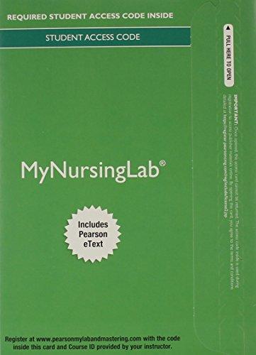 9780133931716: MyNursingLab with Pearson eText -- Access Card -- for Contemporary Psychiatric Mental Health Nursing