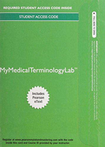 9780133932140: MyLab Medical Terminology with Pearson eText -- Access Card -- for Medical Language